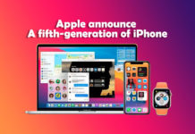 fifth-generation of iPhone