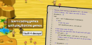 Learn Coding games