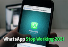 WhatsApp Stop Working 2021